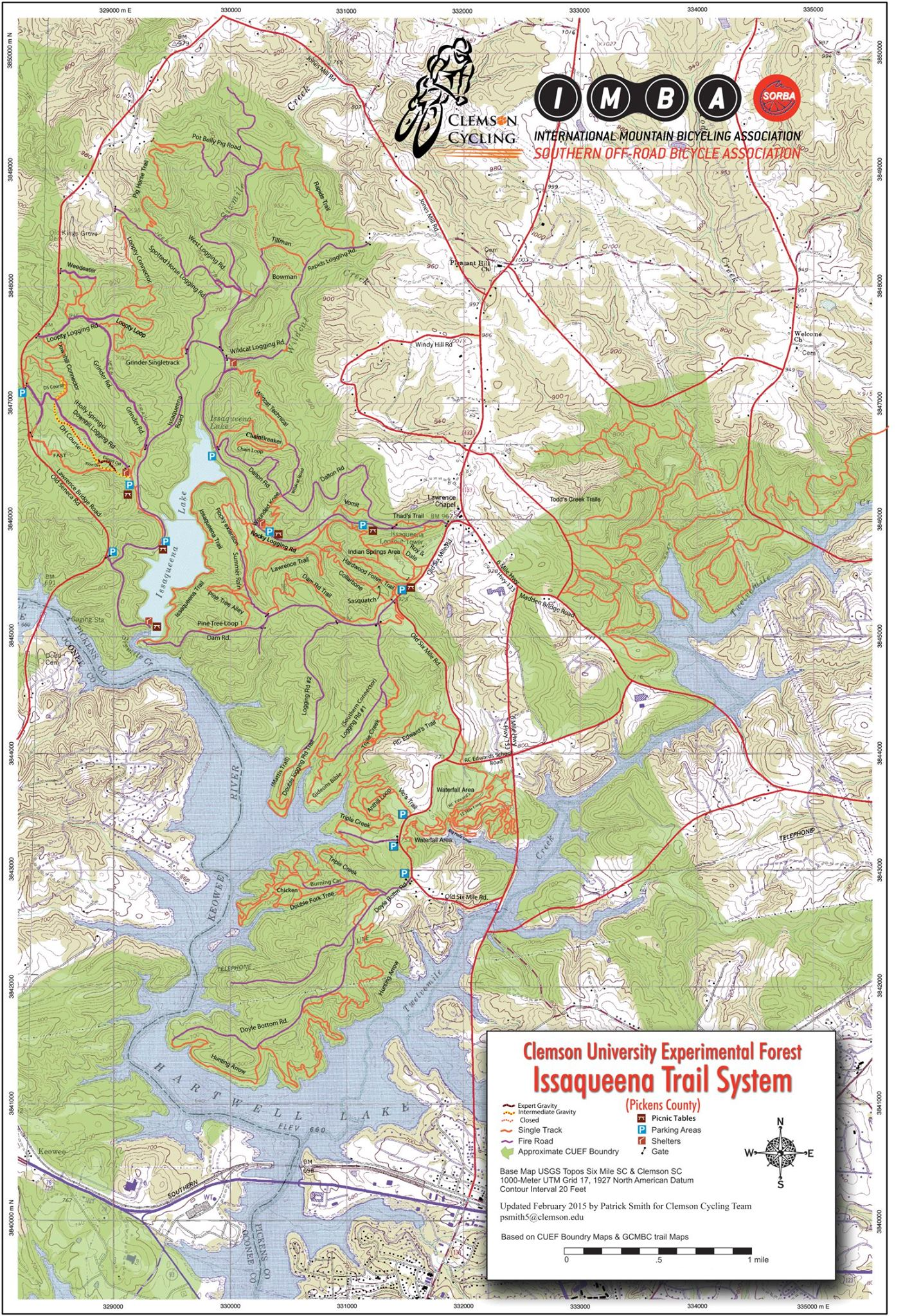 Issaqueenna Trail Map